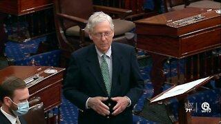 Senate votes to advance Barrett; confirmation expected Monday