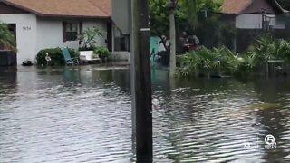 Treasure Coast neighborhoods remain underwater after heavy rain, strong storms