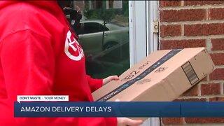 Amazon delivery delays