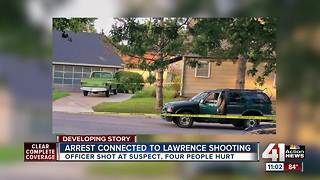 4 people hurt, suspect in custody after officer-involved shooting