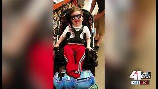 Woman raises money for family's wheelchair ramp