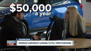 Paddock Chevrolet is hiring