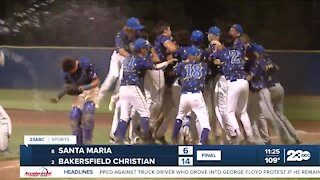 23ABC Sports: BCHS and Kennedy baseball teams win valley championships