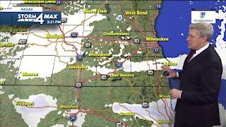 Light snow moves through Thursday evening