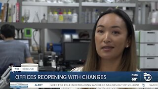 San Diego reopening brings workers back to the office