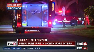 Fire crews respond to structure fire at North Fort Myers medical facility