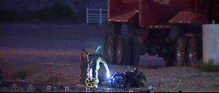 Motorcyclist dead after crash