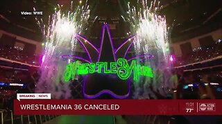 WrestleMania 36 moving out of Tampa, will take place at closed set in Orlando