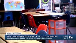 Tulsa Public Schools, to go In-Person, or Remain Online