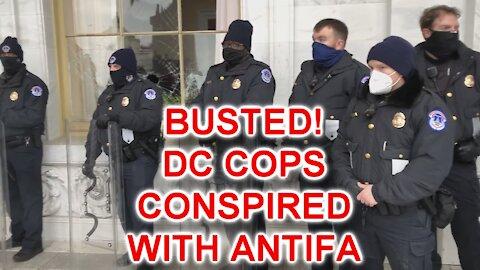 SHORT: Capitol Hill Cops Break Window And Urge Rioters Inside Capitol Building