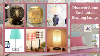 Teelie Turner Author | Discover Some Enchanted Reading Lamps | Teelie Turner
