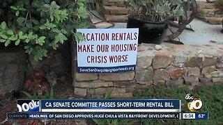 Short-term rental bill continues to move forward