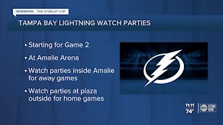 Tampa Lightning trying for the Stanley Cup
