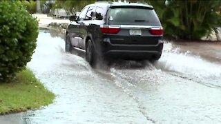 Elsa floods Fort Myers Beach residential areas