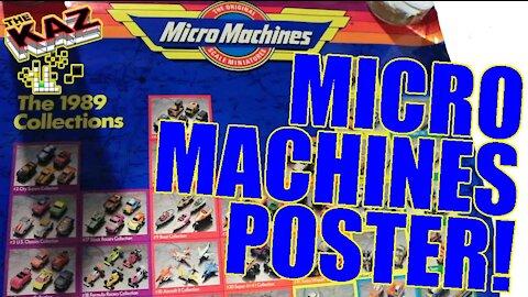 1989 Micro Machines Poster