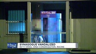 Racine synagogue vandalized with anti-Semitic graffiti