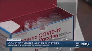 COVID mask scam