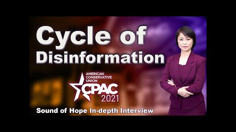 """Election Integrity: How Judge and Media Formed """"Cycle of Disinformation"""" (CPAC Interview #2)"""