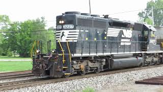 Norfolk Southern Local Mixed Train From Fostoria, Ohio September 1, 2020