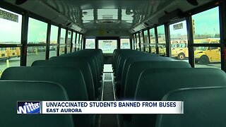 East Aurora Schools ending transportation for unvaccinated students