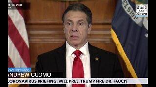Will Donald Trump fire Dr. Fauci?