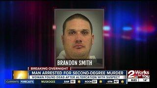 Man arrested for second-degree murder