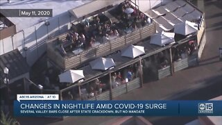 Changes in nightlife amid COVID-19 surge