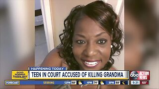 13-year-old accused of stabbing, killing grandmother makes makes court appearance