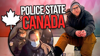 """Canada goes full police state - 6 officers break up """"unlawful"""" New Year's gathering. Of 6 people."""