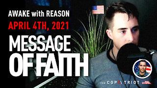 AWAKE with REASON: Message of Faith 🙏