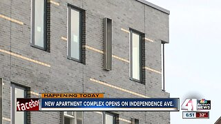 New apartment complex opens on Independence Ave.