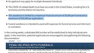 FEMA helping with COVID-19 funerals, but watch for scammers