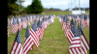 California flag memorial to 13 slain US troops vandalized