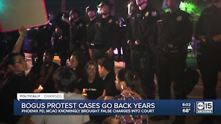 Police knew 2019 protest arrest was a mistake, MCAO brought charges anyway