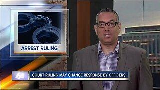 Idaho Supreme Court ruling on arrests