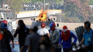 U.S. & Russia Trade Warnings As Venezuela Crisis Escalates