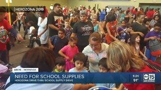 HeroZona holding school supplies drive amid coronavirus pandemic