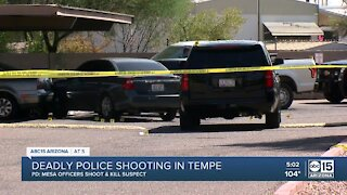 Mesa police involved in deadly police shooting in Tempe