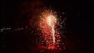 Independence Day Fireworks 2017, Cripple Creek, Colorado