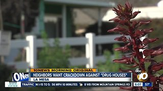 "La Mesa neighborhood pleads for help against suspected ""Drug Houses"""