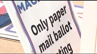 President Trump talks Nevada, mail-in ballots