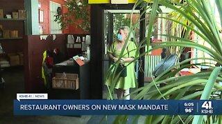 How new indoor mask mandate will affect KC restaurants