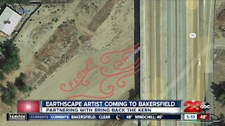 Earthscape artist coming to Bakersfield