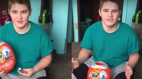 Kid Goes On Epic Rant About Ridiculousness Of Tide Pod Challenge