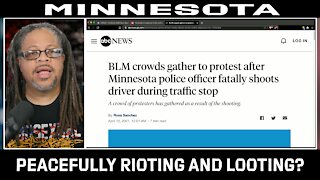 BLM Peacefully Rioting and looting?