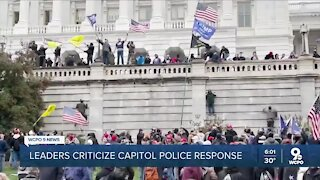 Cincinnati leaders decry 'hypocrisy' of Capitol police response to protests