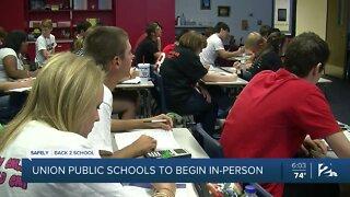 Union Public School Students, Headed Back To School
