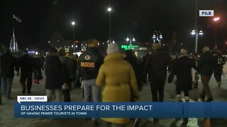 Fewer fans at Packers games will impact businesses