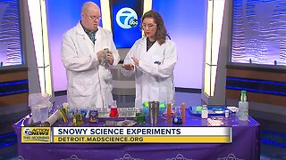 Snowy Science Experiments