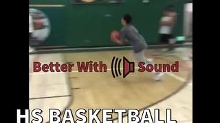HS Basketball Player Destroys The Backboard